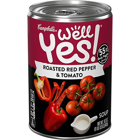 Campbells Roasted Red Pepper Well Yes Soup - 16.3 Oz