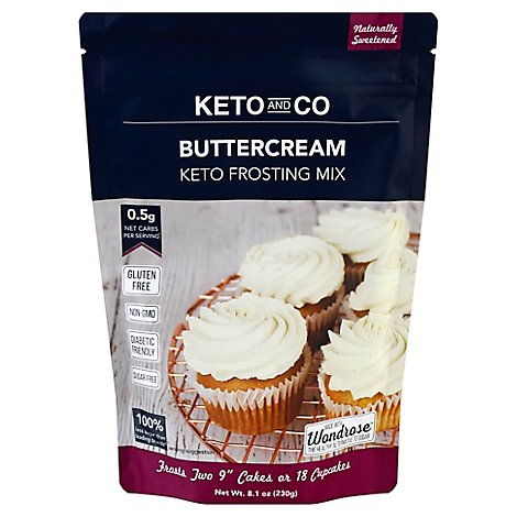Keto & Co Frosting Mix Buttercream - 8.1 Oz