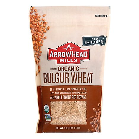 Arrowhead Mills Cereal Bulgur Box Org - 24 Oz