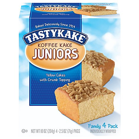 Tastykake 4mp Koffeekake Juniors - 10 Oz