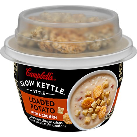 Campbells Soup Loaded Potato W/Bacon - 7.5 Oz