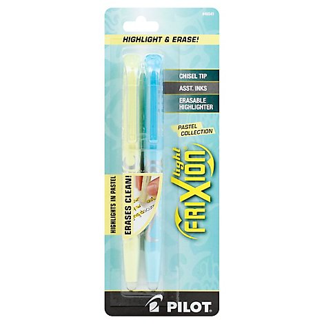 Frixion Light Pastel Asst 2p Mc - Each