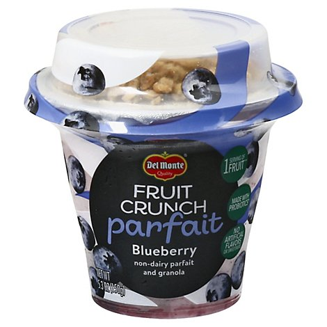 Del Monte Fruit Crunch Parfait Blueberry - 5.3 Oz