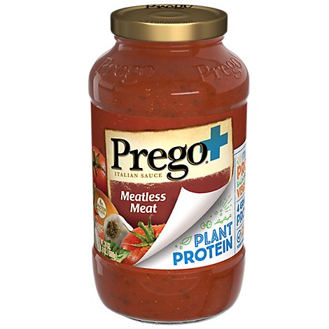 Prego Sauce Meatless Meat - 24 Oz