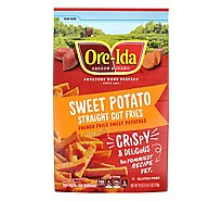 Ore Ida Swt Pot Straight Cut - 19 Oz