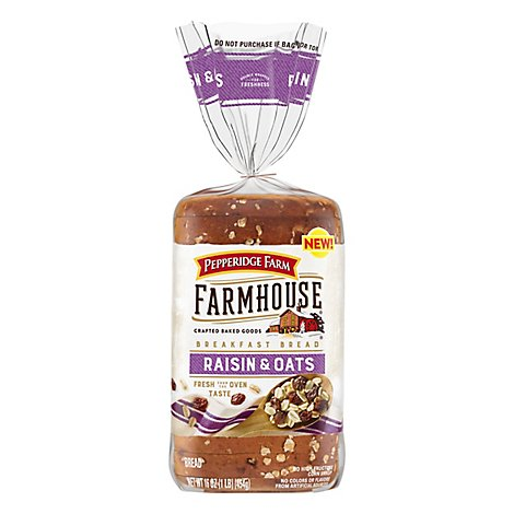 Pepperidge Farm Bread Raisin - 16 Oz