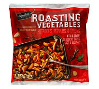Signature Select Roasters Roasted Potatoes Peppers Onions - 14 Oz