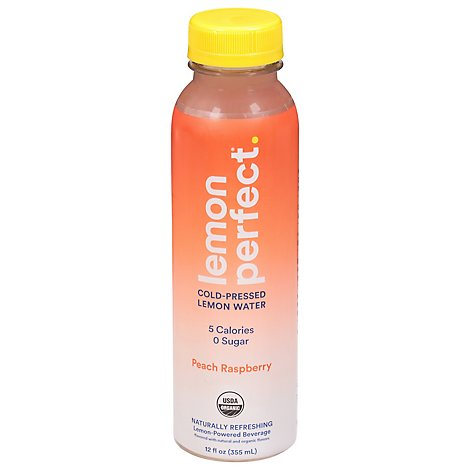Lemon Perfect Water Peach Raspberry - 12 Fl. Oz.