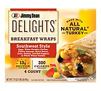 Fully Cooked Breakfast Wrap Southwest Style - 17 Oz