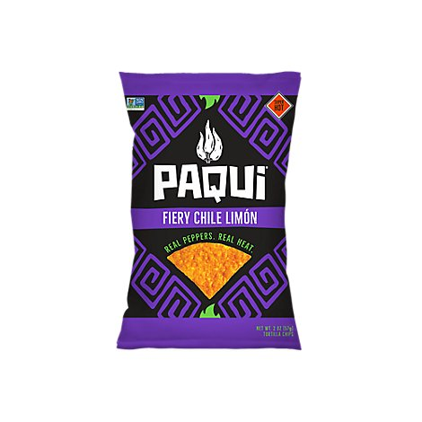 PAQUI Tortilla Chips Fiery Chile Limon - 2 Oz