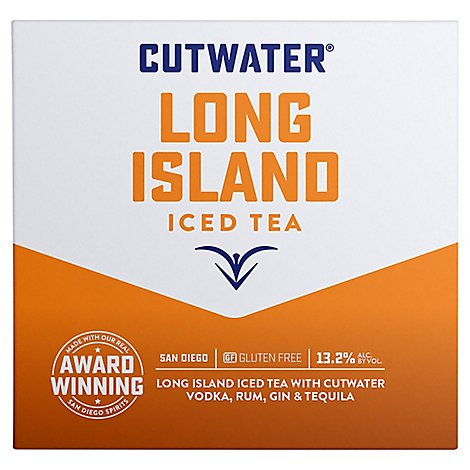 Cutwater Long Island Iced Tea - 4-12 Fl. Oz.