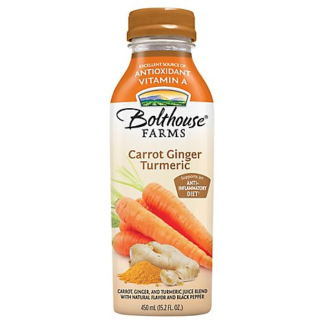 Bolthouse Carrot Ginger Turmeric Juice - Each