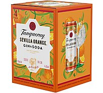 Tanqueray Sevilla Orange And Soda - 4-12 Fl. Oz.
