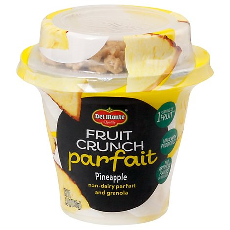 Del Monte Fruit Crunch Parfait Pineapple Coconut - 5.3 Oz