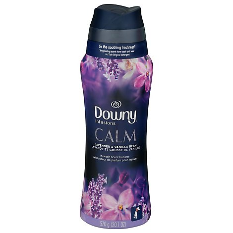 Downy Infusions Calm Scent Booster Lavender & Vanilla Bean - 20.1 Oz