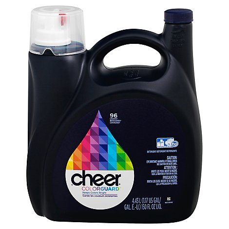 Cheer Colorguard Liquid Laundry Detergent - 150 Fl. Oz.