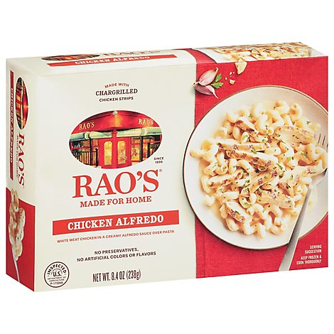 Raos Pasta Chicken Alfredo - 8.4 Oz