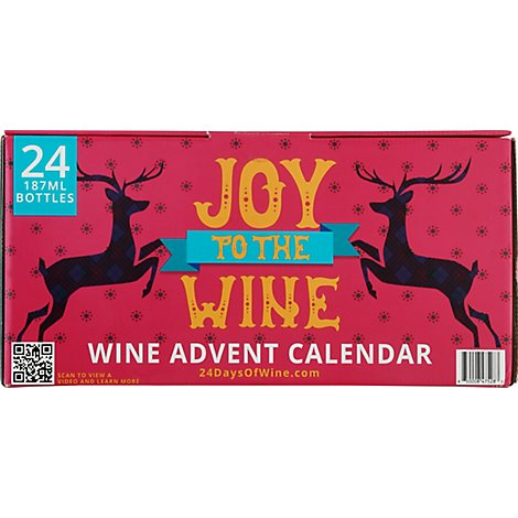 Wine Advent Calendar - 24-187 Ml
