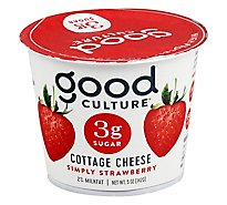 Good Culture Cottage Cheese Simply Strawberry - 5 Oz