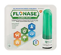 Flonase Allergy Relief - 72 Count