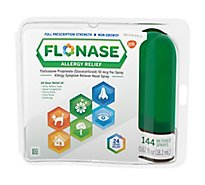 Flonase Allergy Relief Metered Nasal Spray 24 Hour Non Drowsy  - 0.62 Fl. Oz.