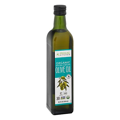 Primal Kitchen Organic Olive Oil Extra Virgin - 16.9 Fl. Oz.