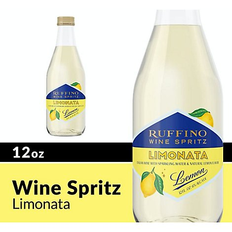 Ruffino Wine Spritz Limonata Lemon - 12 Oz