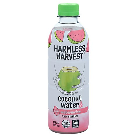Harmless Harvest Watermelon Coconut Water - 12 Oz