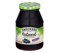 Smuckers Natural Fruit Spread Concord Grape - 25 Oz