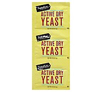 Signature Select Yeast Active Dry - 3-0.25 Oz