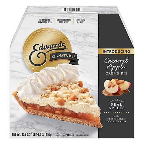 Edwards Signature Pie Apple - 30.2 Oz