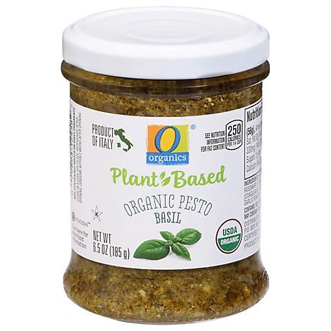 O Organics Pesto Basil 6 5 Oz Safeway