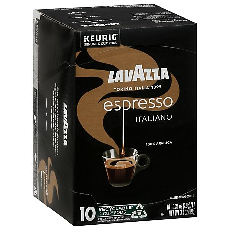 Lavazza Espresso Italiano Kcup Coffee - 10 Count
