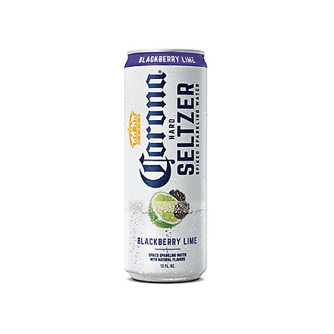Corona Hard Seltzer Spiked Sparkling Water Blackberry Lime - 12 Fl. Oz.