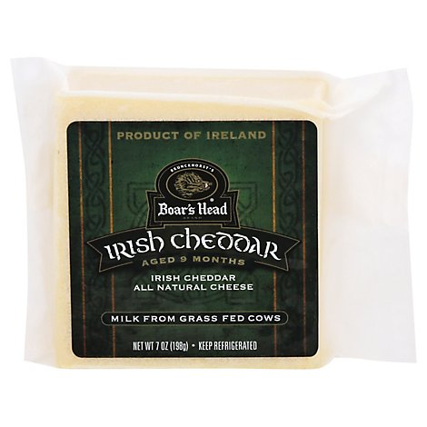 Boars Head Irish Cheddar Cheese - 7 Oz