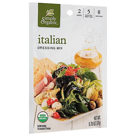 Simply Organic Organic Italian Dressing Mix - .7 Oz