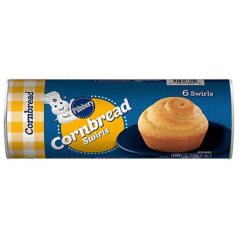 Pillsbury Cornbread Swirls - 11 Oz