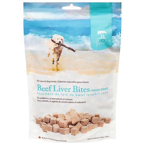 Caledon Farms Dog Treat Beef Liver Bite - 5.3 Oz