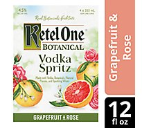 Kob Spritz Grapefruit & Rose Can - 4-12 Fl. Oz.