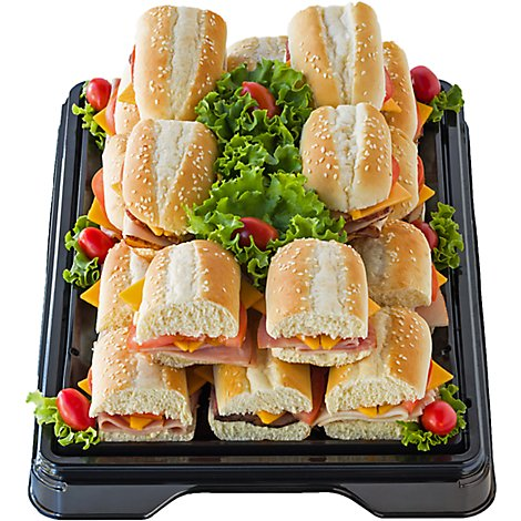 Deli Catering Tray Hoagie Sandwich 10-14 Servings - Each (Please allow 24 hours for delivery or pickup)