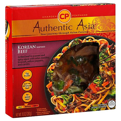Authentic Asia Korean Inspired Beef - 10 OZ