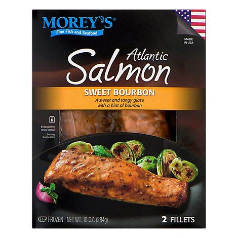Moreys Atlantic Salmon Sweet Bourbon - 10 OZ