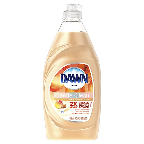 Dawn Ultra Dishwashing Liquid Gentle Clean Peach & Almond Scent - 16.2 Fl. Oz.