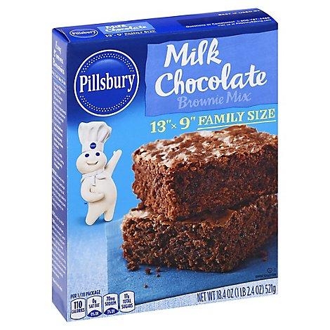 Pillsbury Milk Choc Brownie Mix - 18.4 OZ