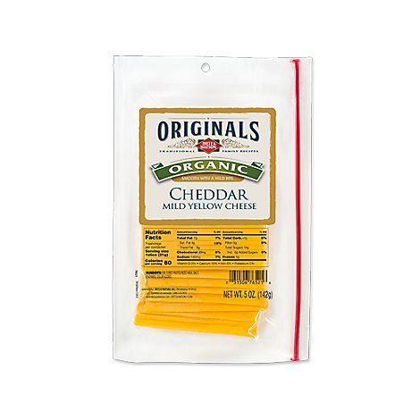 Dietz & Watson Originals Cheese Cheddar Yellow - 5 Oz