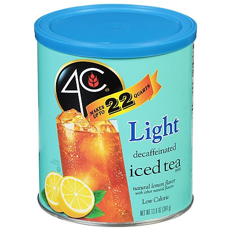 4c Light Decaf Itm 22 Qt - 13.9 OZ
