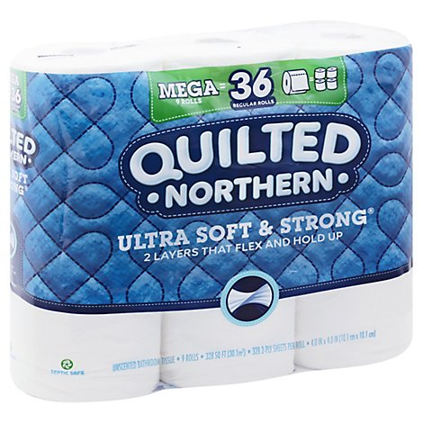 Qltd Nrthrn Ultra Soft & Strong Tissue - 9 RL