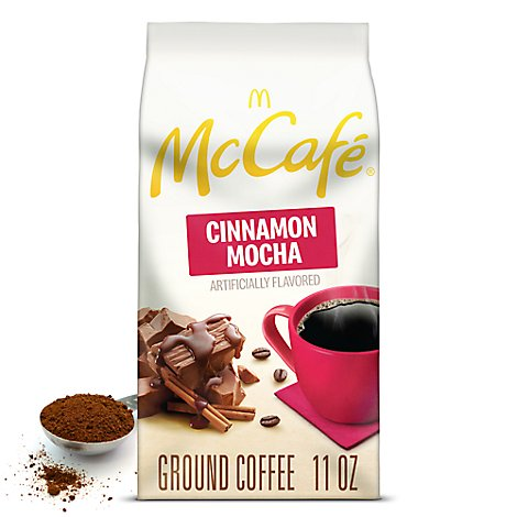 Mc Cafe Grnd Coffee Cinn Mocha - 11 OZ
