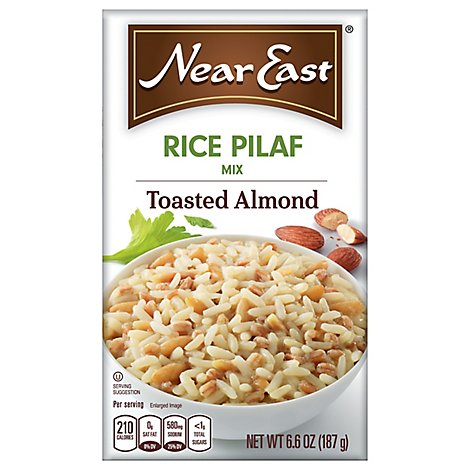 Near East Mix Toasted Almond Rice Pilaf - 6.6 OZ