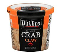 Phillips Claw Crab Meat - 8 OZ
